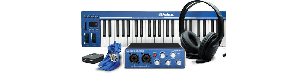 Решение для записи музыки Presonus Audiobox Music Creation Suite