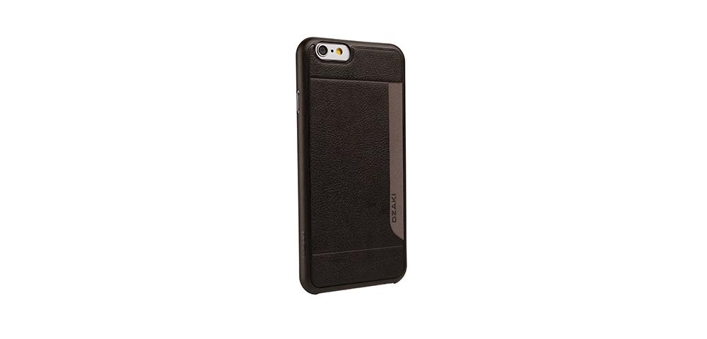 Apple accessories  OZAKI O!coat-0.3+Pocket iPhone 6 Black