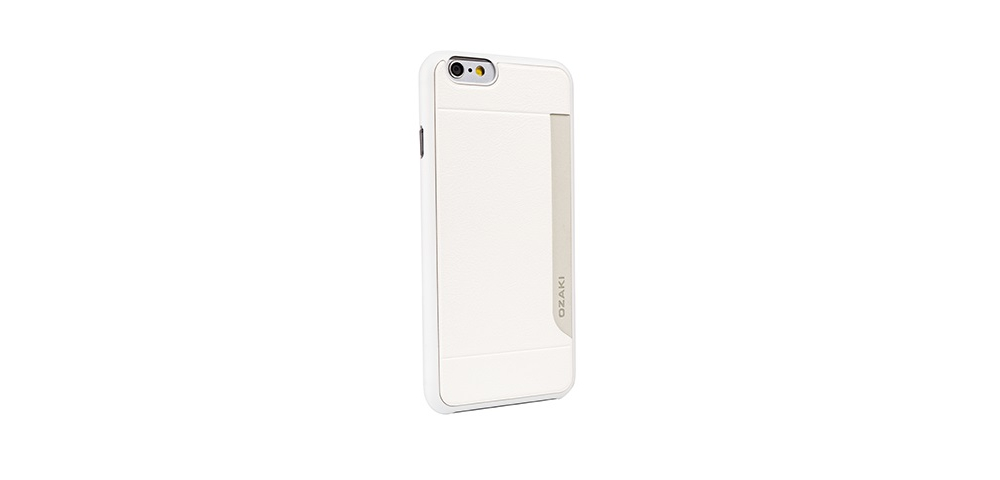 Apple accessories  OZAKI O!coat-0.3+Pocket iPhone 6 White
