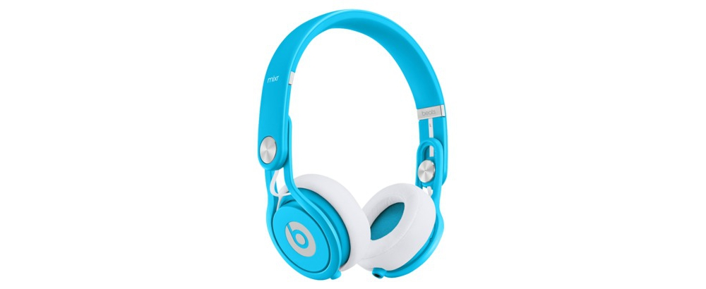 DJ-наушники Beats by Dr. Dre Mixr Neon Blue