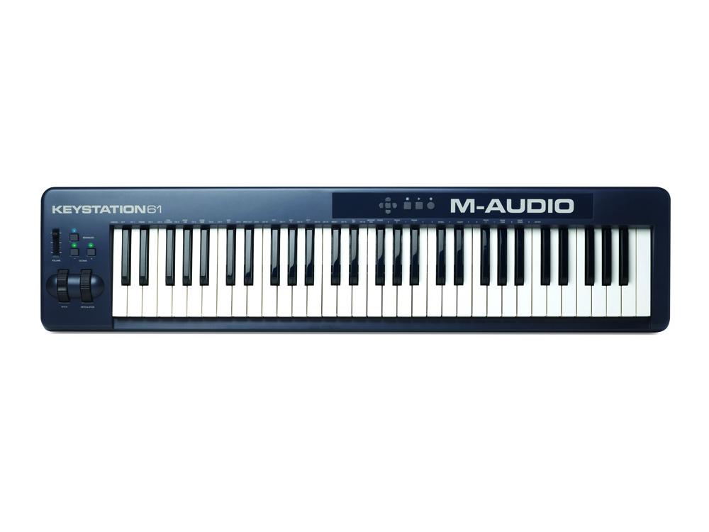 Midi-клавиатуры M-Audio Keystation 61 II (NEW)