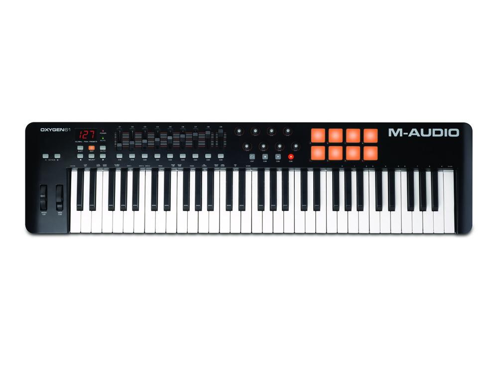 Midi-клавиатуры M-Audio Oxygen 61 mkIV