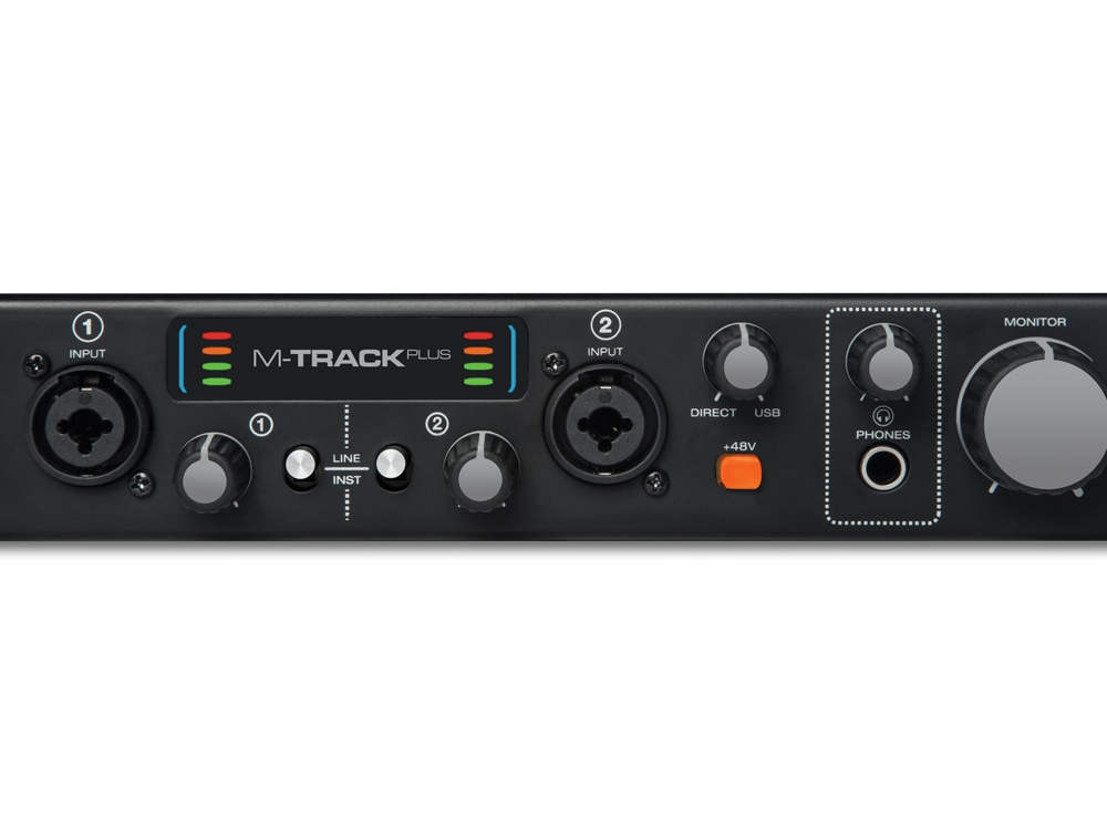 Звуковые карты M-Audio M-Track Plus II
