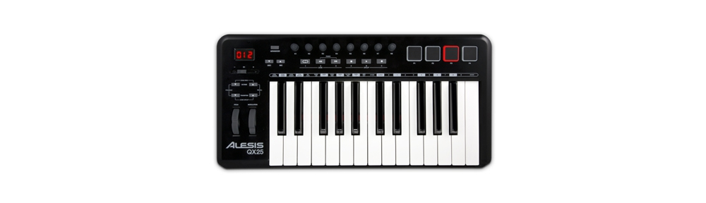 Midi-клавиатуры Alesis QX25