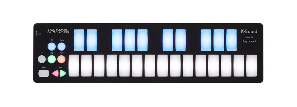 Midi-клавиатуры Keith McMillen K-BOARD