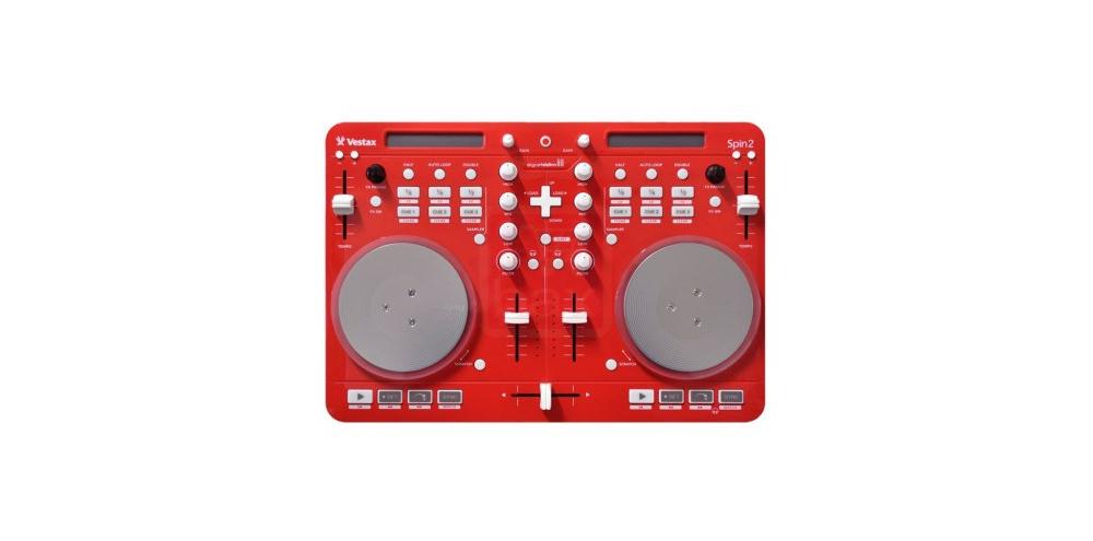 DJ-контроллеры Vestax Spin 2 Red
