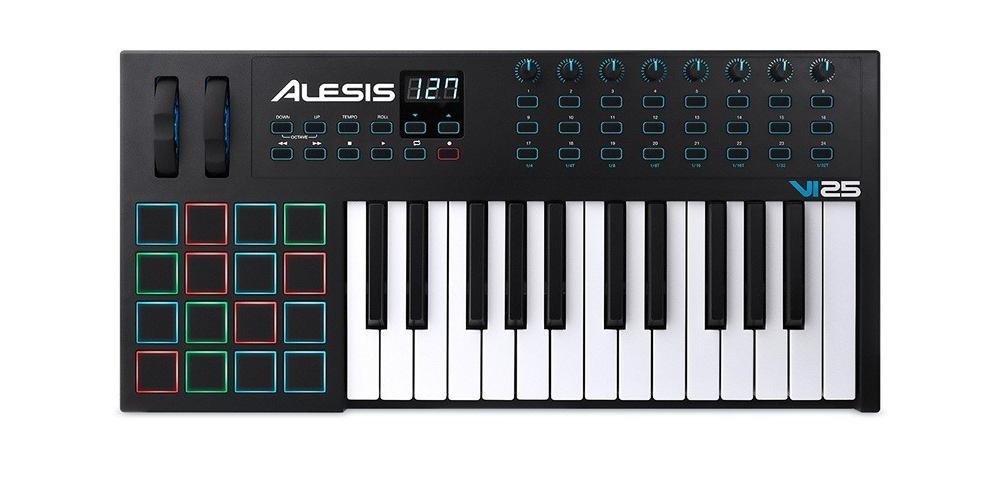 Midi-клавиатуры Alesis VI25