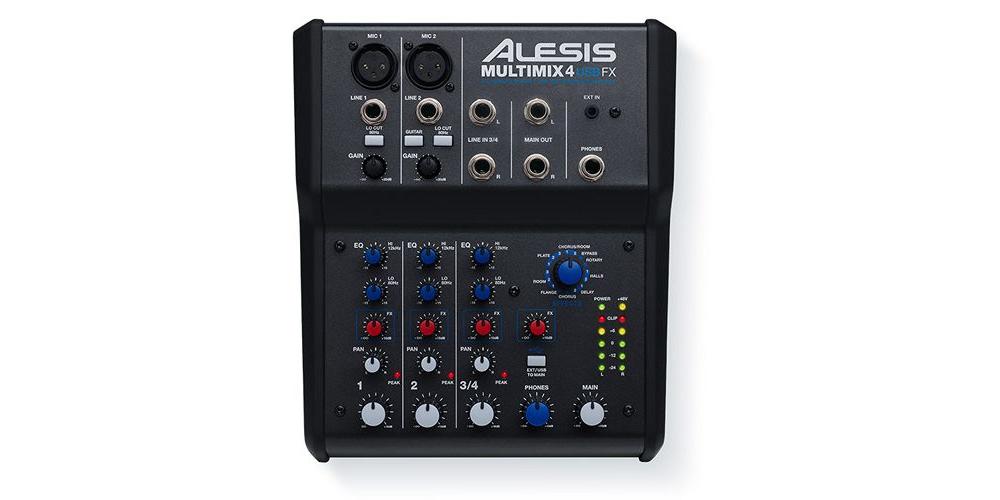 Микшерные пульты Alesis MULTIMIX 4 USB FX