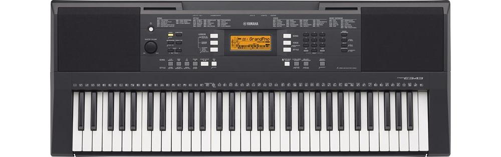Синтезаторы и рабочие станции Yamaha PSR-E343