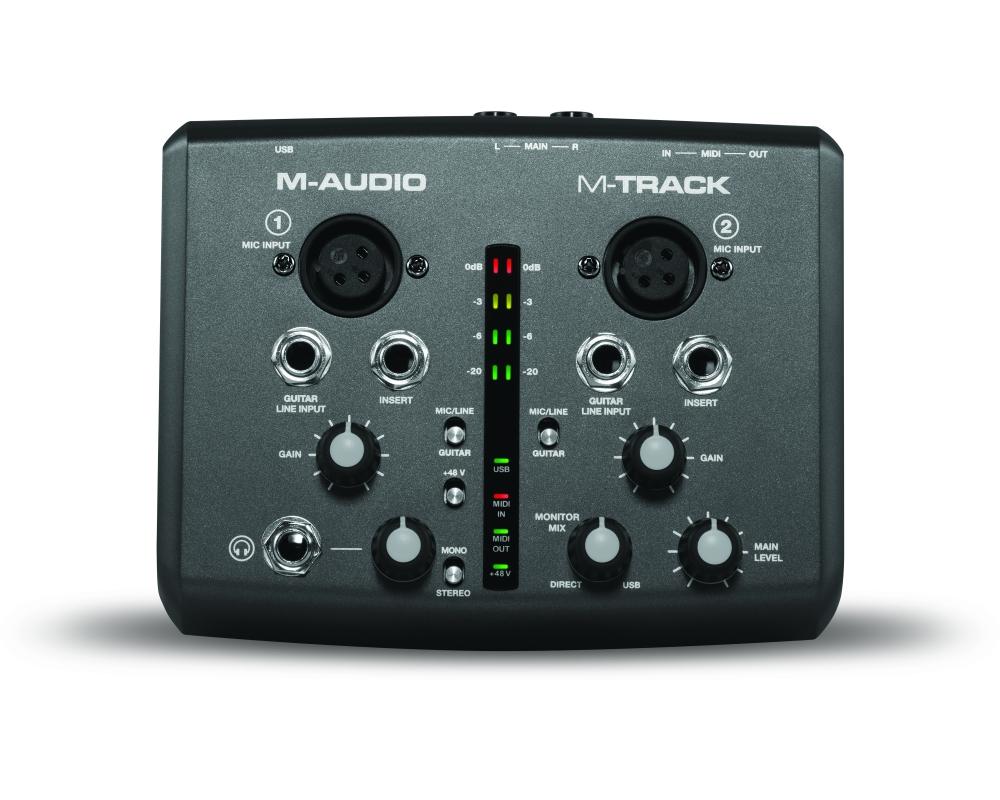 Звуковые карты M-Audio Fast Track MK2