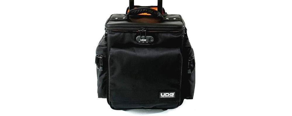 Сумки для пластинок UDG Ultimate SlingBag Trolley DeLuxe Black/Orange