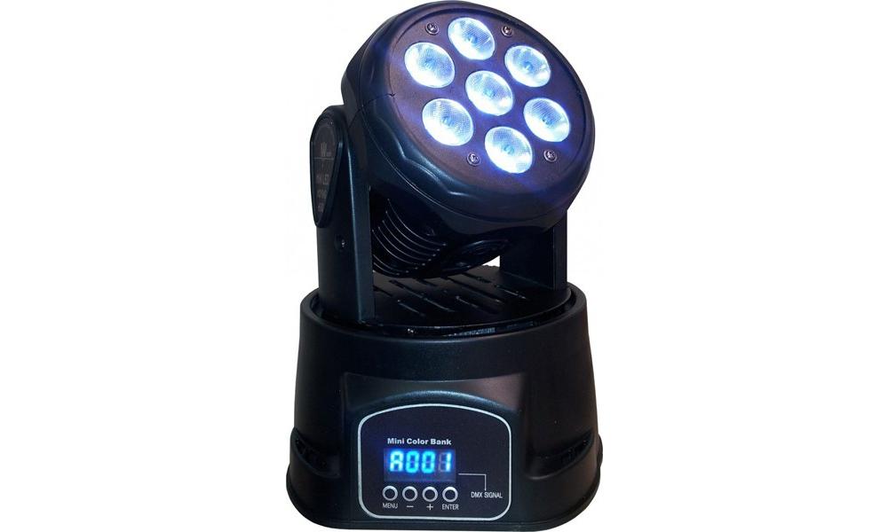 Прожекторы LED PAR Free Color W710