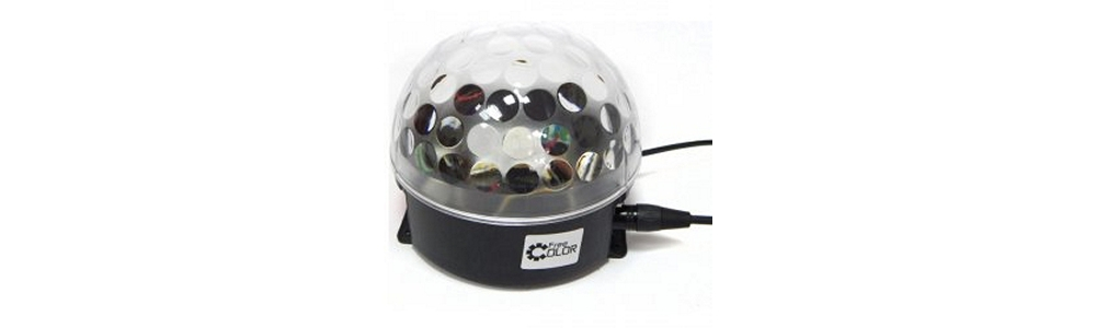 Светодиодные приборы заливающего света Free Color BALL35