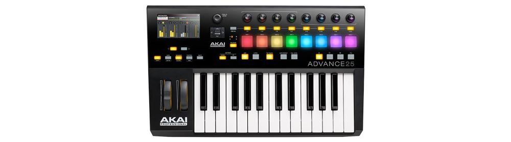 Midi-клавиатуры Akai Advance 25