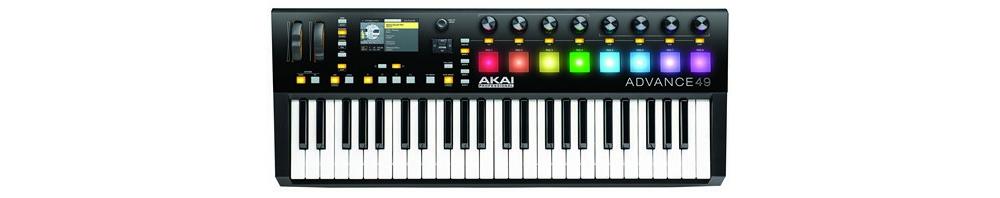 Midi-клавиатуры Akai Advance 49