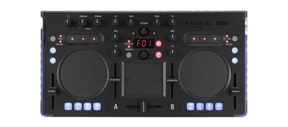 DJ-контроллеры Korg Kaoss DJ