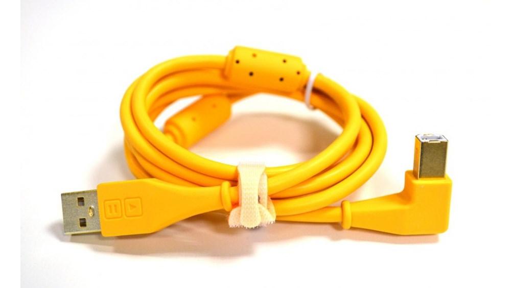 Коммутация DJ Tech Tools Chroma Cables Orange (angled)