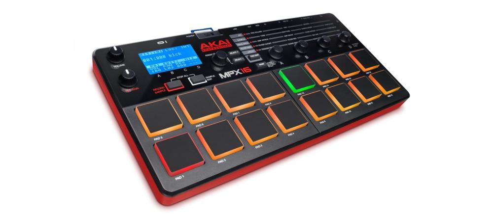 DJ-контроллеры Akai MPX16