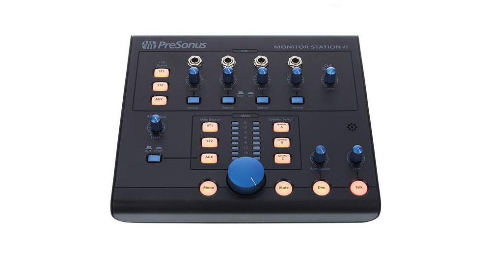 Аудио конверторы, рекордеры Presonus Monitor Station V2