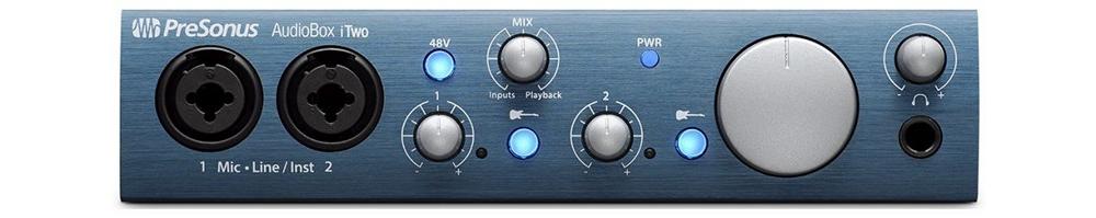 Звуковые карты Presonus AudioBox iTwo