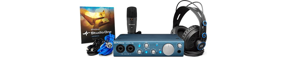 Звуковые карты Presonus AudioBox iTwo Studio