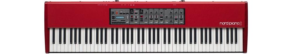Синтезаторы и рабочие станции Nord (Clavia) Piano 2 HA88