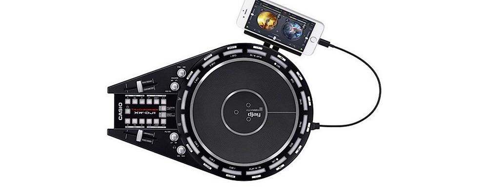 DJ-контроллеры Casio XW-DJ1