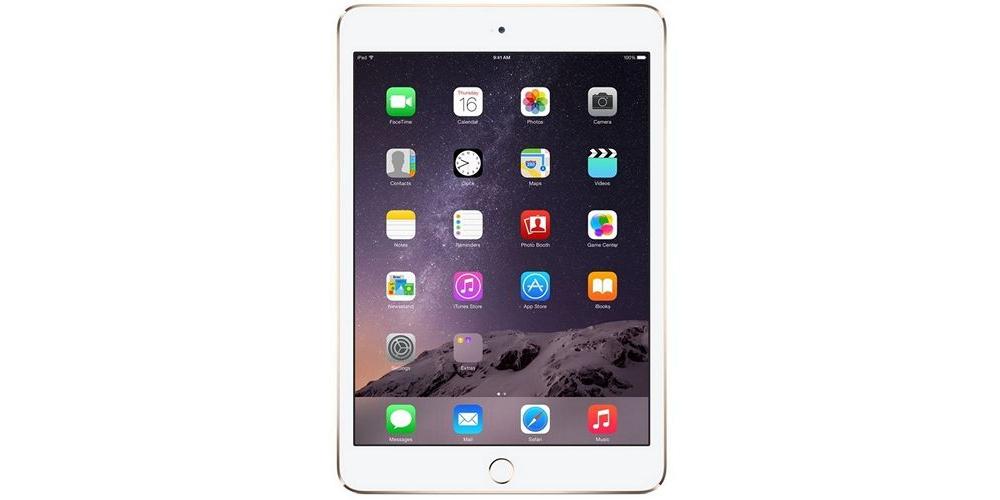 iPad mini Apple iPad mini 3 Wi-Fi+LTE 128Gb (Gold)
