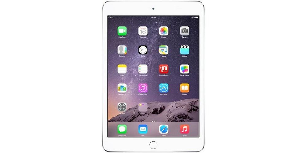 iPad mini Apple iPad mini 3 Wi-Fi+LTE 64Gb (Silver)