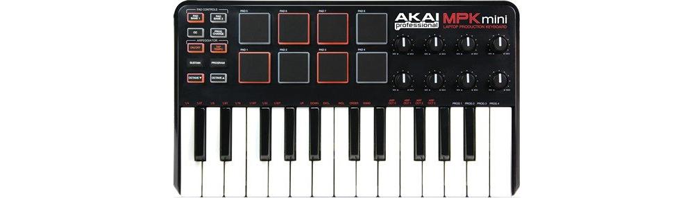 Midi-клавиатуры Akai MPK Mini