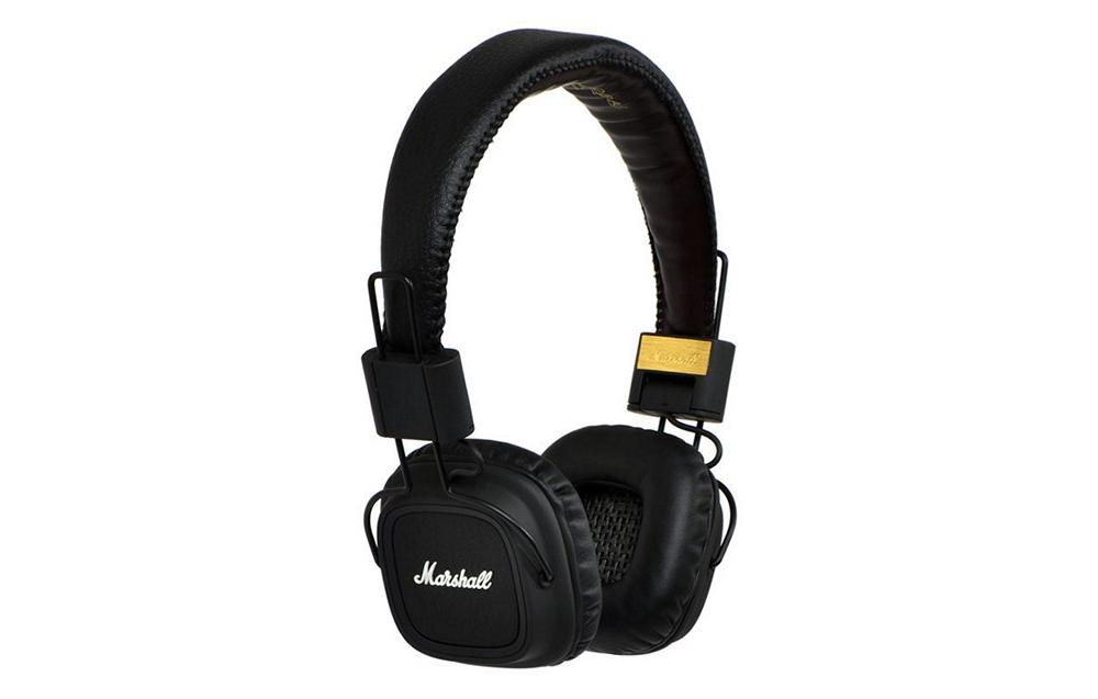Наушники для аудиофилов Marshall Major Black MKII
