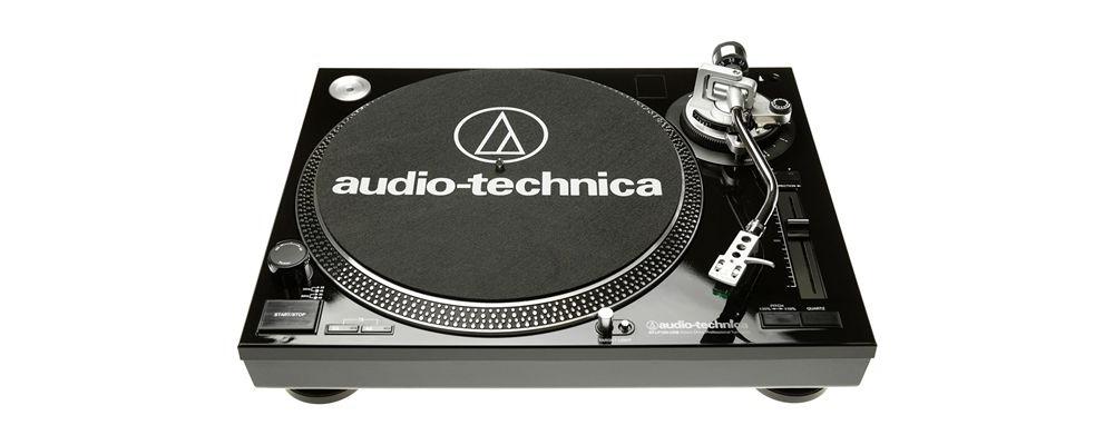 Проигрыватели винила Audio-Technica AT-LP120-USBHC Black