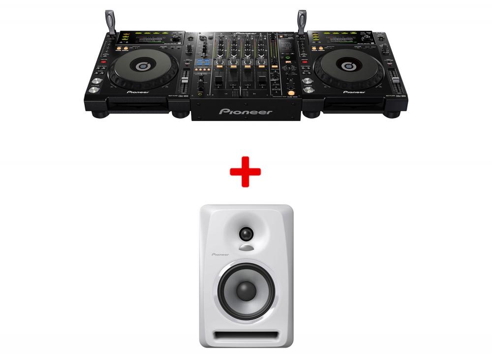 DJ-комплекты Pioneer CDJ-850(2шт) + DJM-850