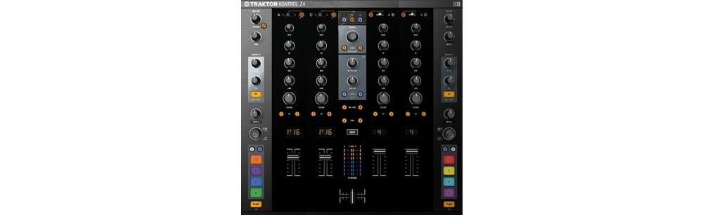 DJ-микшеры Native Instruments Traktor Kontrol Z4