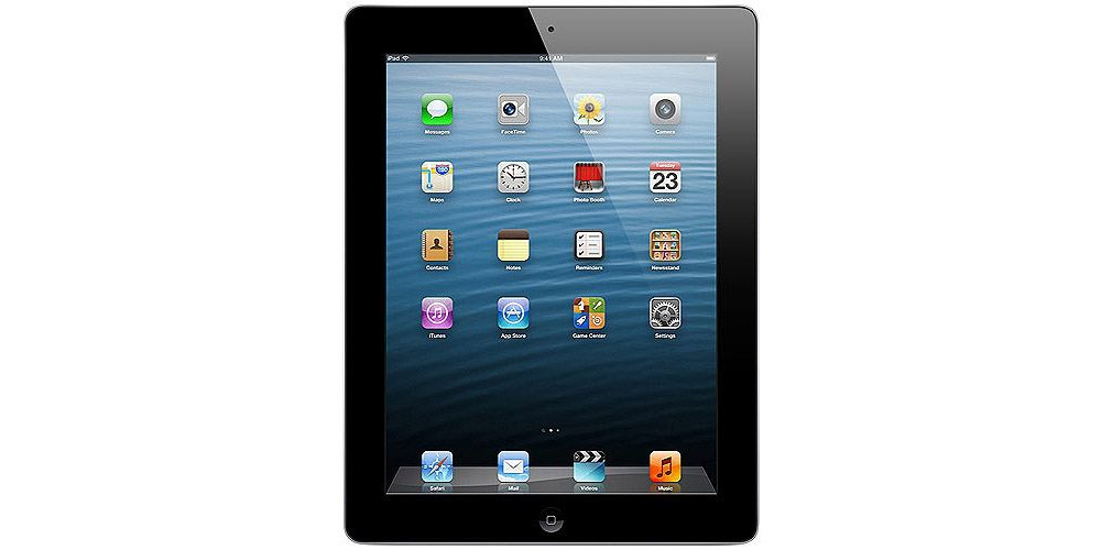 iPad Apple iPad 4 Retina Wi-Fi + 4G 16Gb Black