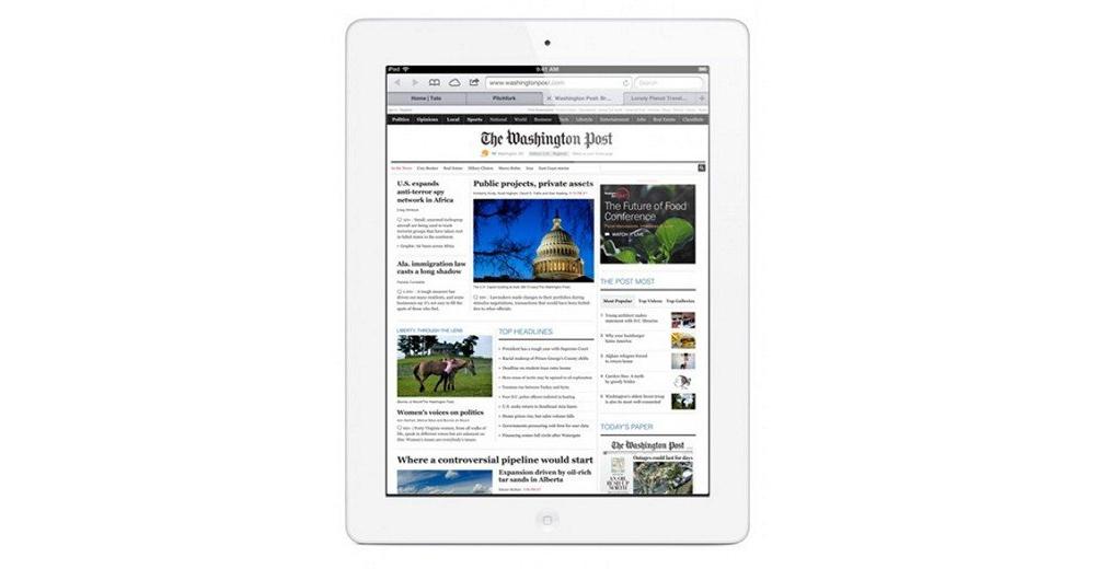 iPad Apple iPad 4 Wi-Fi 64GB White