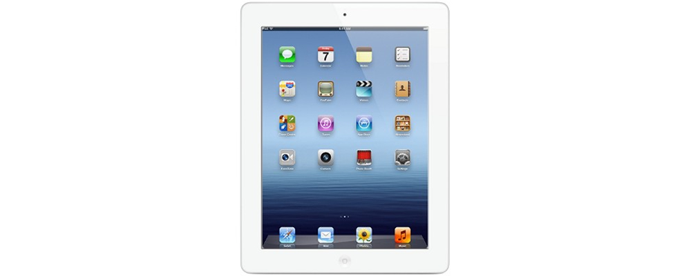 iPad Apple iPad new 16Gb Wi-Fi + 4G White