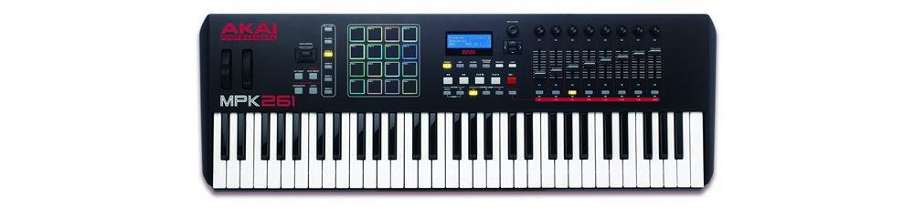 Midi-клавиатуры Akai MPK261