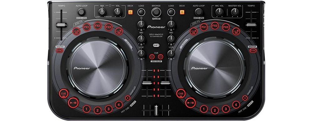 DJ-контроллеры Pioneer DDJ-WeGO2 Black