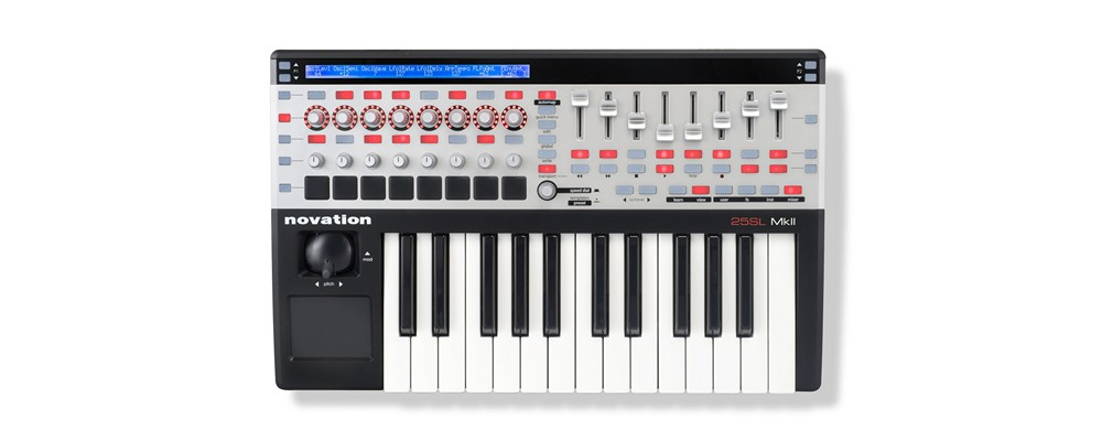 Midi-клавиатуры Novation ReMote 25 SL mk II
