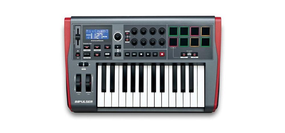 Midi-клавиатуры Novation Impulse 25