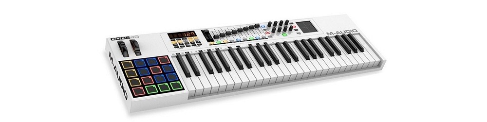 Midi-клавиатуры M-Audio Code 49