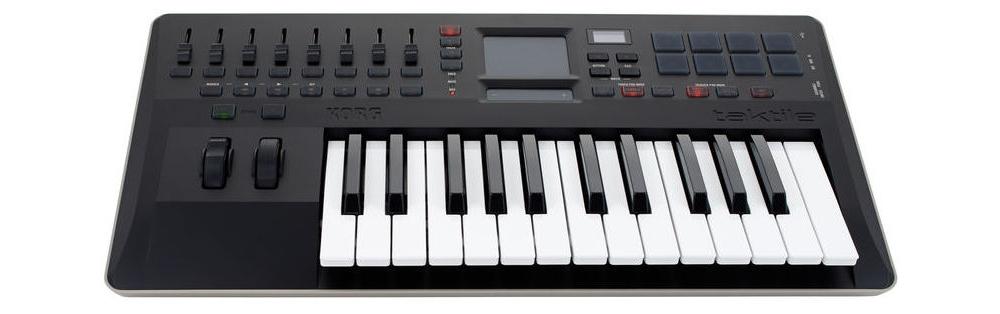 Midi-клавиатуры Korg Taktile 25