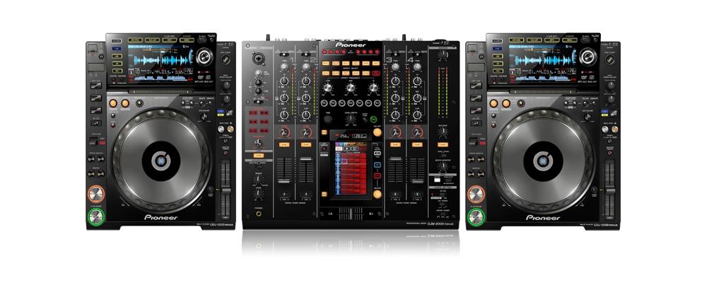 DJ-комплекты Pioneer CDJ-2000 nexus + Pioneer DJM-2000 nexus