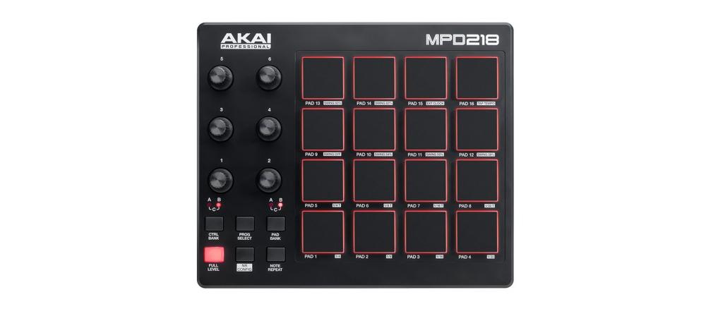 DJ-контроллеры Akai MPD218