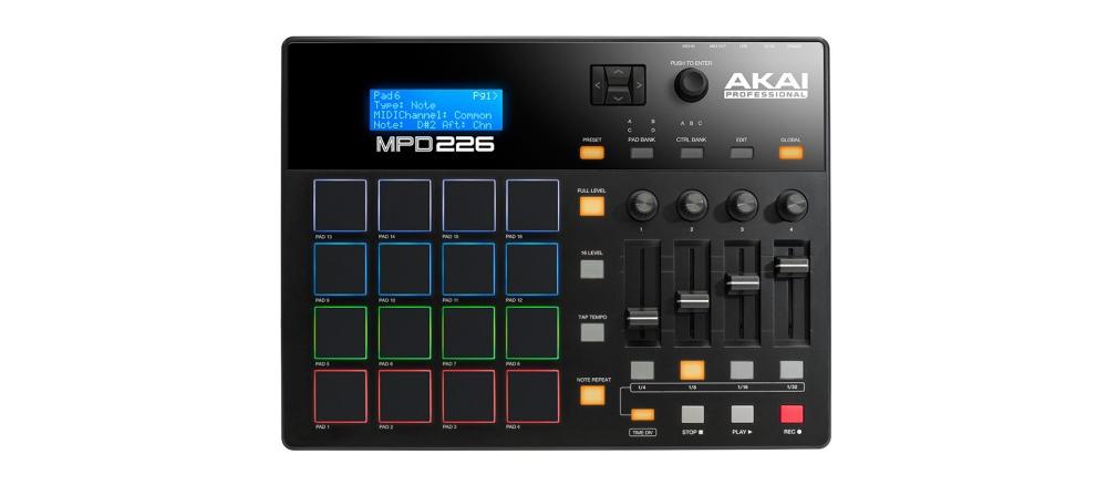 DJ-контроллеры Akai MPD226