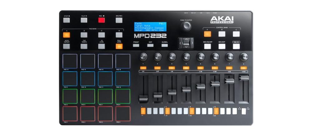 DJ-контроллеры Akai MPD232
