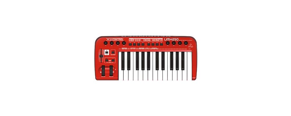 Midi-клавиатуры Behringer UMX250