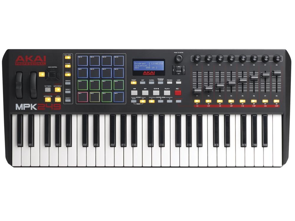 Midi-клавиатуры Akai MPK249