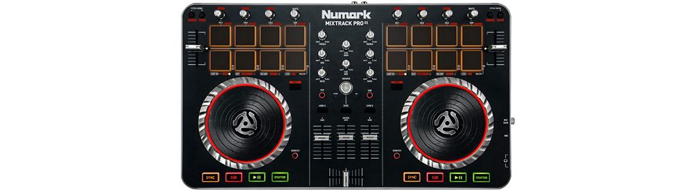 DJ-контроллеры Numark Mixtrack Pro II